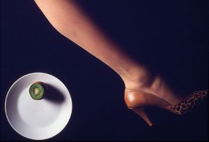 Shoe and Plate, Studio Shot